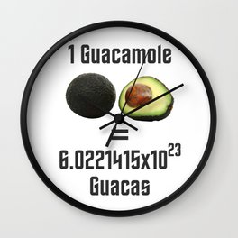 Guacamole Wall Clock