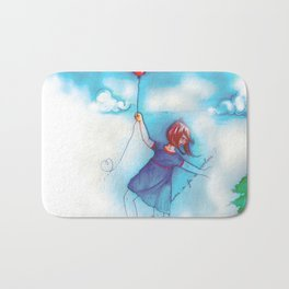 I can fly Bath Mat