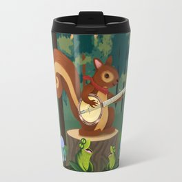 The Nutport Croak Music Festival Travel Mug