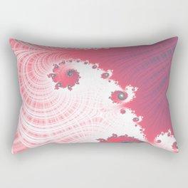 Strawberry Cream - Fractal Art Rectangular Pillow