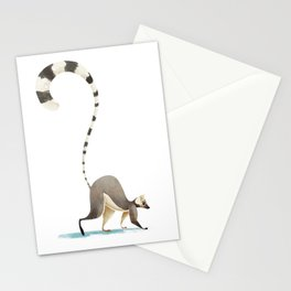 Lemur Stationery Cards