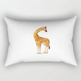 Cute giraffe. Vector graphic character Rectangular Pillow