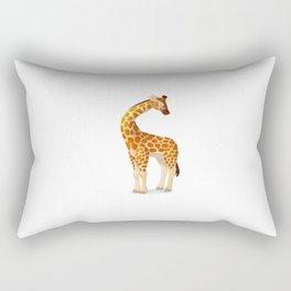 Cute giraffe. Vector graphic character Rectangular Pillow