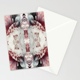 Rose glitche Stationery Cards