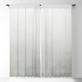 Benjamin Moore Metropolitan Gray AF-690 Abstract Watercolor Ombre Blend - Gradient Blackout Curtain