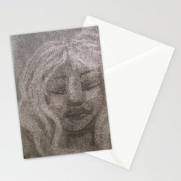 White haired Stationery Cards