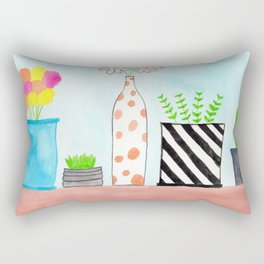 All In A Row Rectangular Pillow