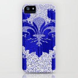 Florentine Blue Garden iPhone Case