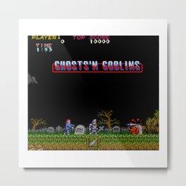 Ghosts 'n Goblins Metal Print