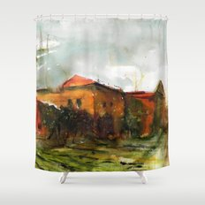 Who is in the house of my heart Shower Curtain