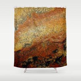 Beach Stone Abstract Shower Curtain