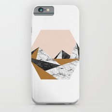 Geo Landscape Hexagon Slim Case iPhone 6