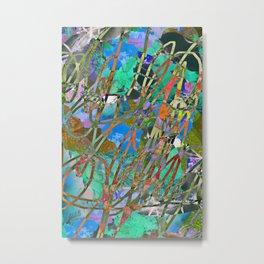 Abstract Digital Painting 2006142 Metal Print