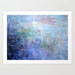 Blue Noise Art Print