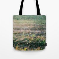 fairies Tote Bags featuring Fairies by EarthandSky