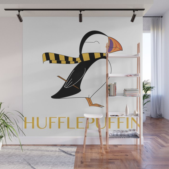 Hufflepuffin Wall Mural