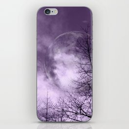 Purple Night  - JUSTART © iPhone Skin