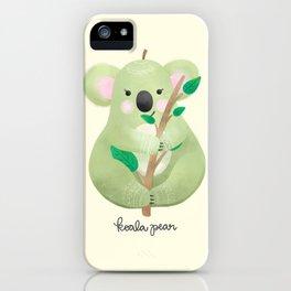 Koala Pear iPhone Case