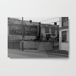 Camp Washington, Cincinnati, Ohio  Metal Print