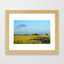Island View Framed Art Print