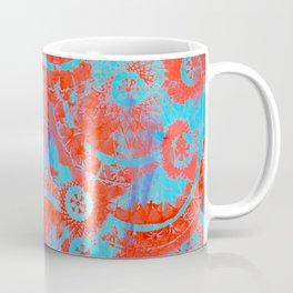 Red mandalas Coffee Mug