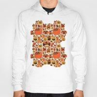 pumpkin Hoodies featuring Pumpkin Pattern by Chris Piascik