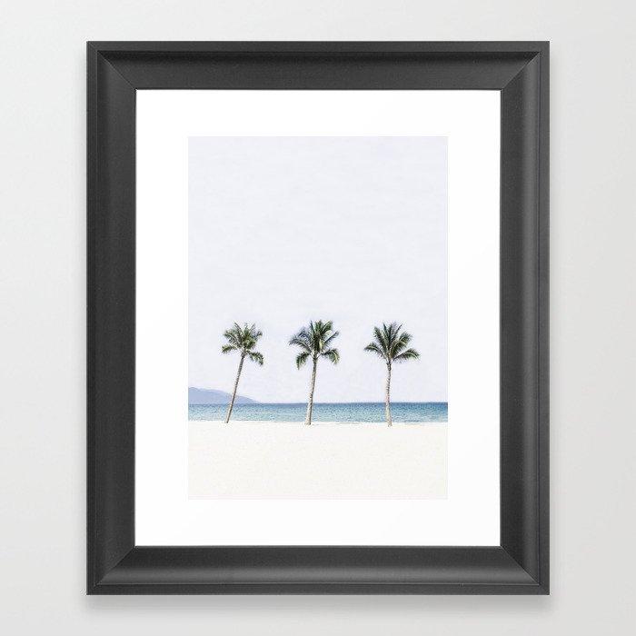 Palm trees 6 Gerahmter Kunstdruck