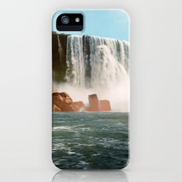 Vintage Horseshoe Falls of Niagara - 1901 iPhone Case