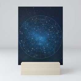 Constellation Star Map Mini Art Print