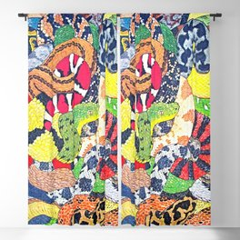 Snakes Blackout Curtain