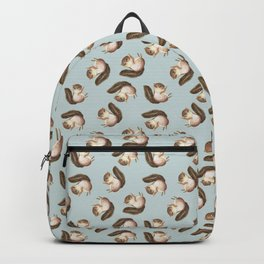 squirrel pattern Backpack
