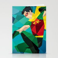 dc comics Stationery Cards featuring DC Comics Robin by Eric Dufresne