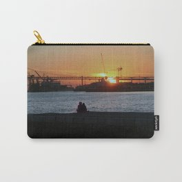 Daybreak on the river Carry-All Pouch