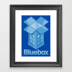 Bluebox Framed Art Print