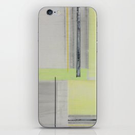 GreenGray Paint iPhone Skin