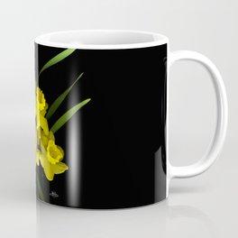 Spring Daffodils Scanography Coffee Mug