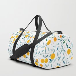 Orange Tree Duffle Bag