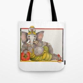 Ganesha reclining Tote Bag