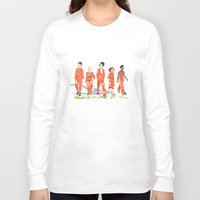 misfits Long Sleeve T-shirts featuring Misfits by aNiark