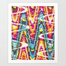 Funky One Art Print