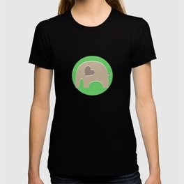 Green Safari Elephant 2 T-shirt
