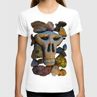 minerals T-shirts featuring skull and minerals by giol's
