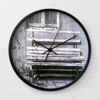 jewish Wall Clocks featuring Many quiet moments to rest by Brown Eyed Lady