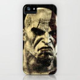 kratos iPhone Case