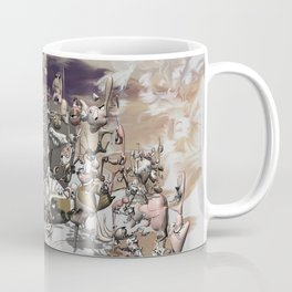 Migration II - surreal doodle sandworld Coffee Mug