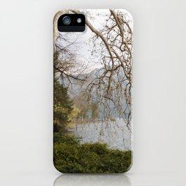 Lugano park iPhone Case
