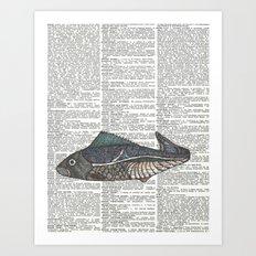 New Fish Art Print