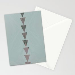 dusty arrows cool Stationery Cards