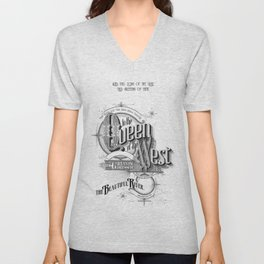 Queen of the West Unisex V-Neck