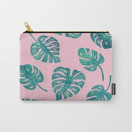 Tropics (pink) Carry-All Pouch